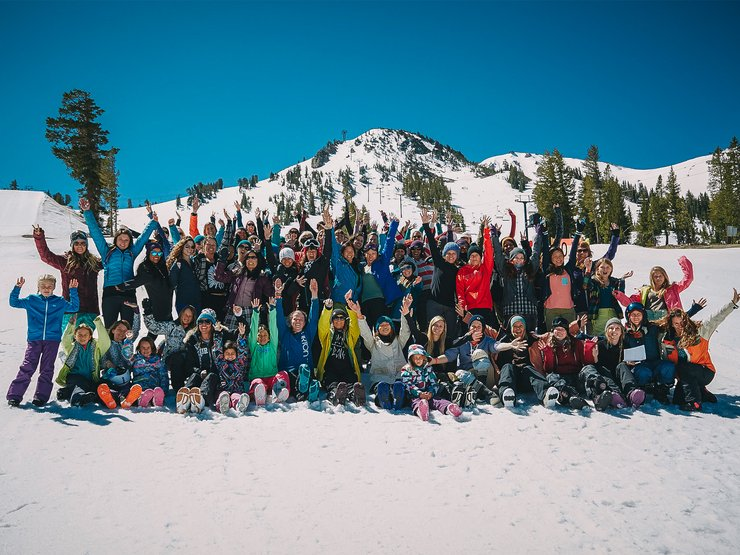 The crew in Mammoth, CA, 2015.