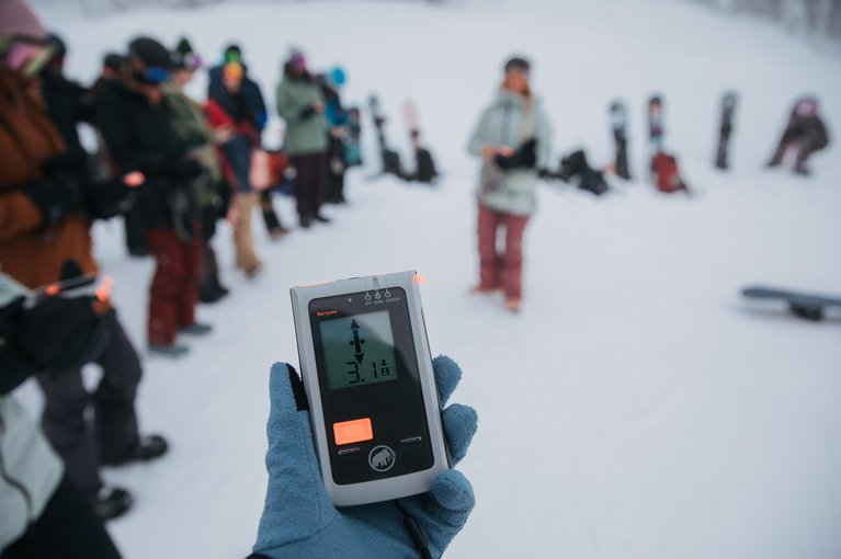 Why You Should Take an Avalanche Safety Course - Field Beacon Practice