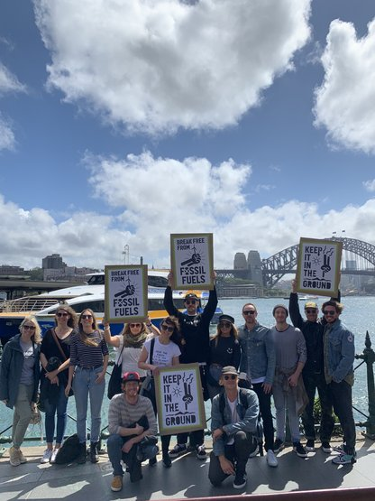 """It was pretty wild. Tens of thousands of people were marching for the cause,"" says Alex Dillenbeck, Assistant Brand Manager – Burton Australia.."