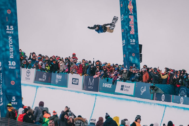 Raibu Katayama at the Burton U·S·Open
