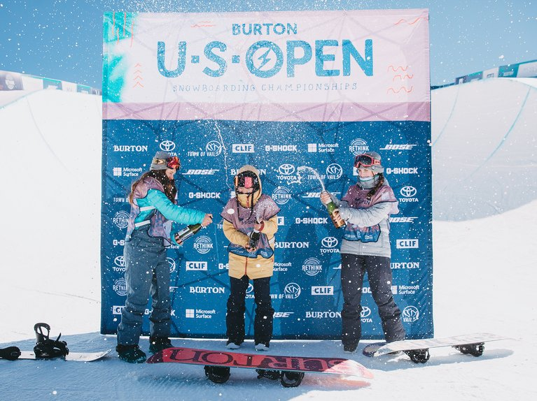 Junior Jam Podium at the Burton U·S·Open
