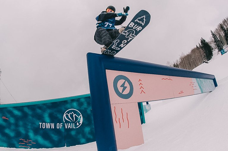 Luke Winkelmann at the Burton U·S·Open