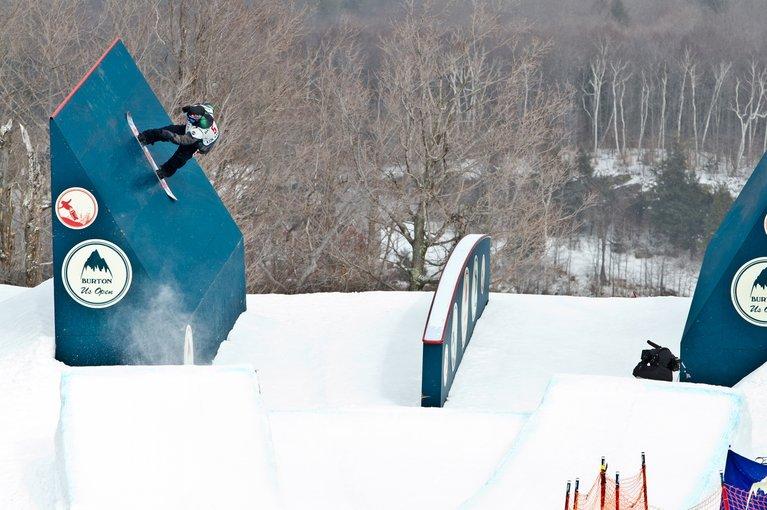 skoki na snowboardzie