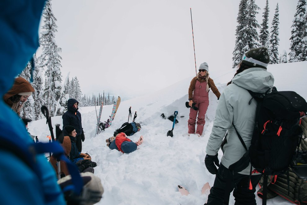 Why You Should Take an Avalanche Safety Course - Group Shot