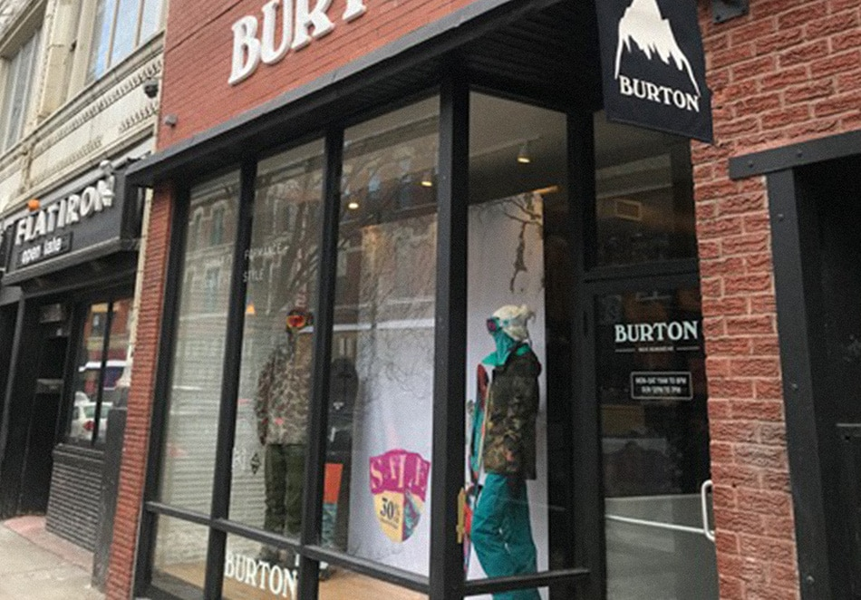 Magasin Burton - Chicago