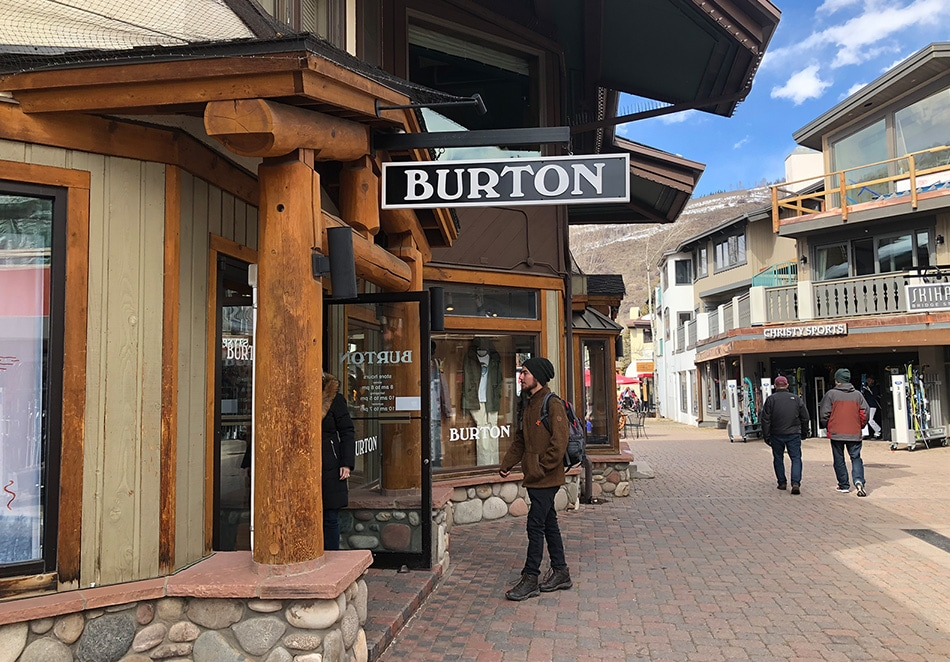 Burton Shop – Vail Village