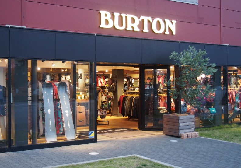 Point de vente Burton - Yokohama