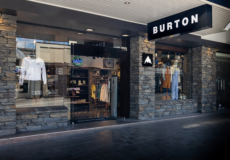 Magasin Burton - Queenstown