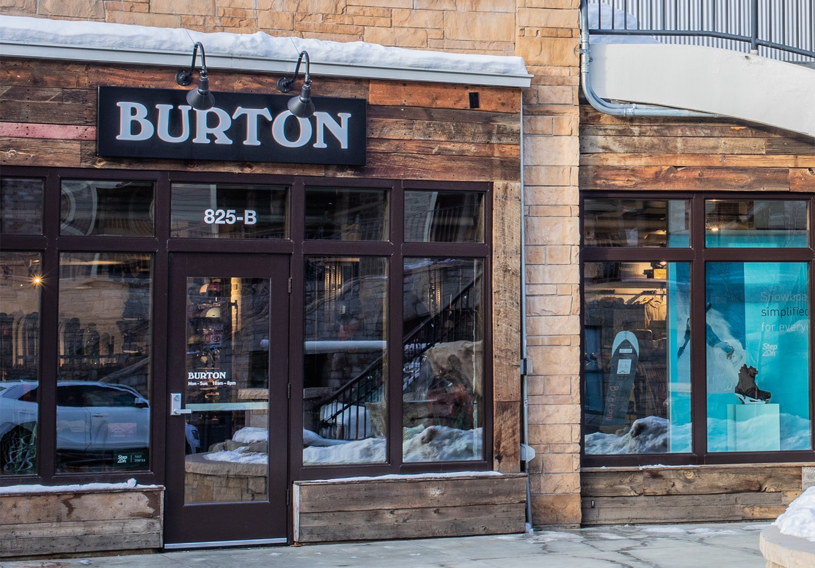 Magasin Burton — Park City