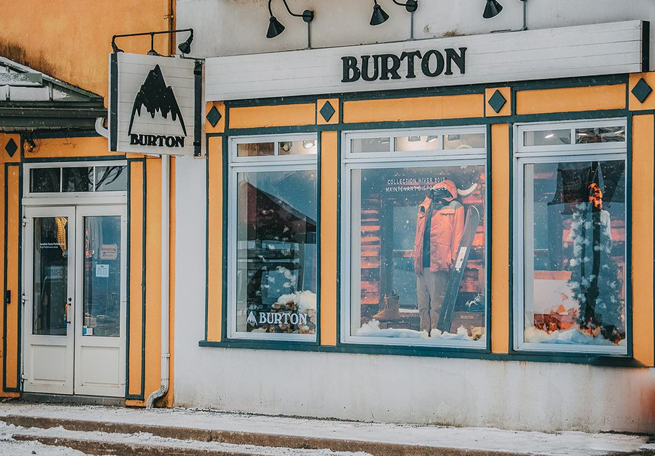 Magasin Burton - Tremblant