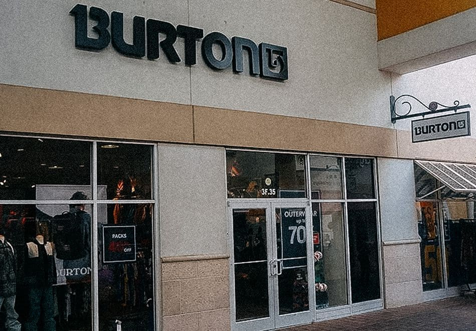 Point de vente Burton - Orlando