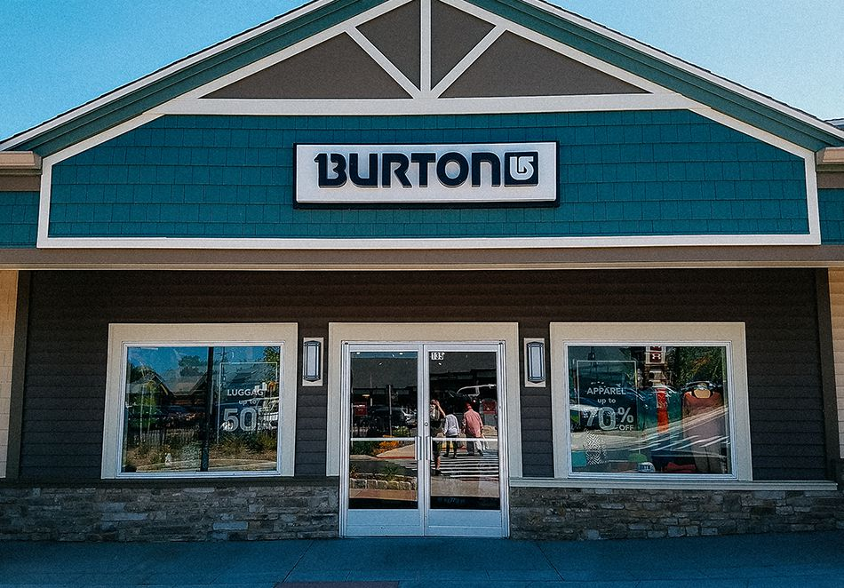 Point de vente Burton - Woodbury