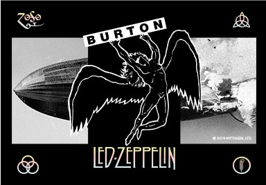 Burton x Led Zeppelin - The Misty Mountain Hop Snowboard