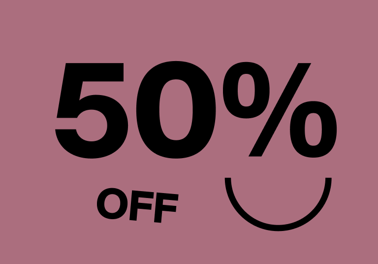 Save 50% on Select Items - Shop Now