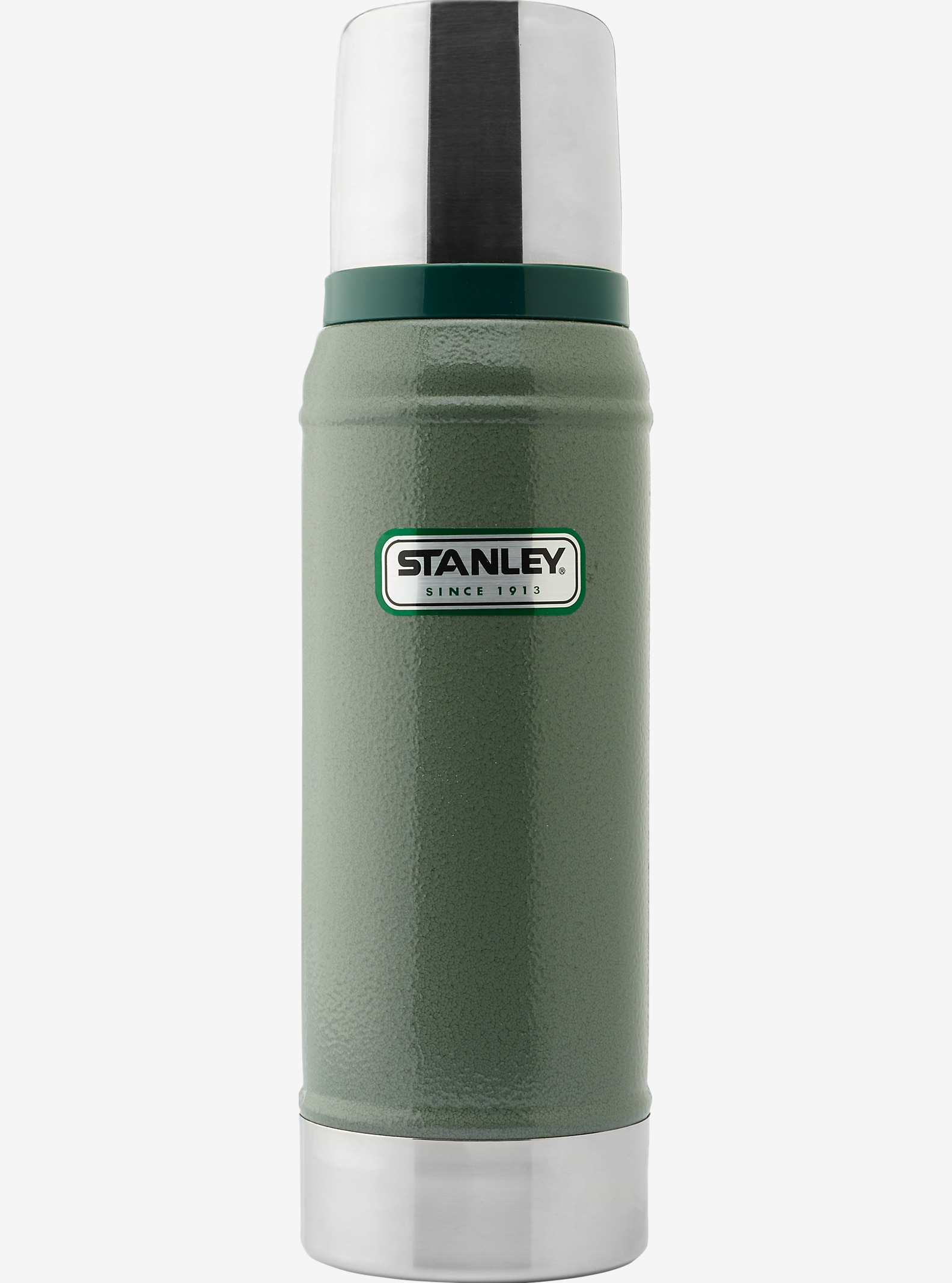 Stanley - Bouteille isotherme Classic 25 oz affichage en Hammertone Green
