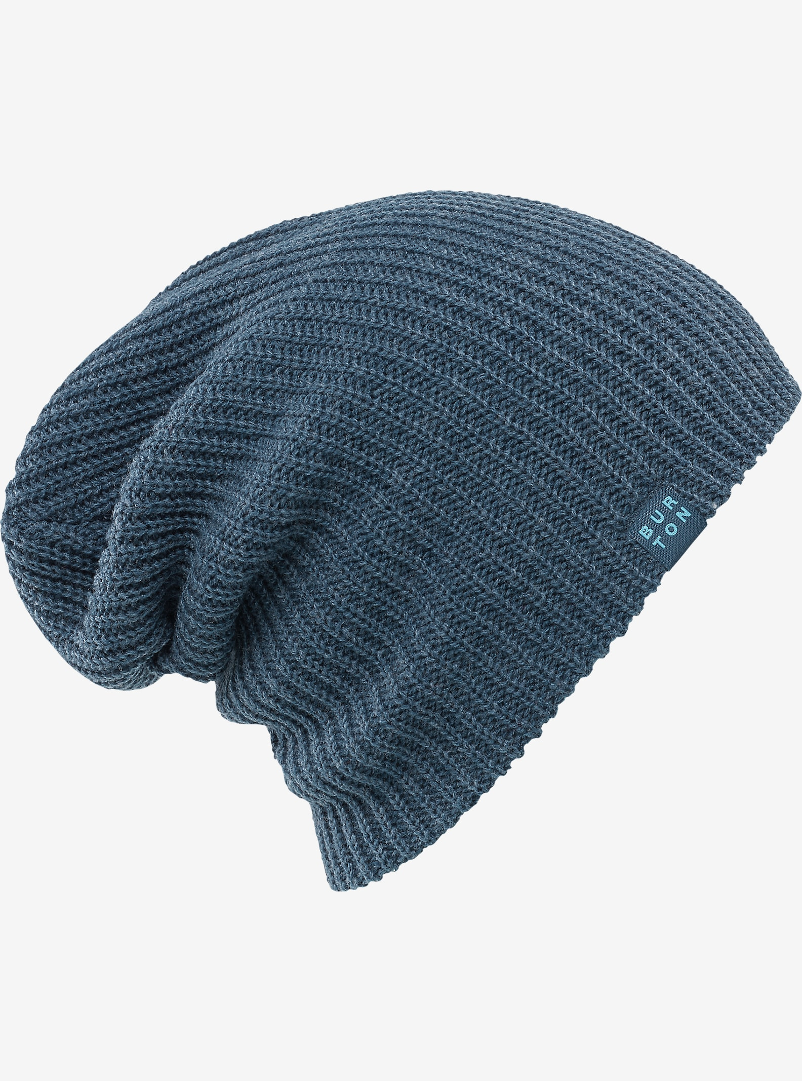 Burton Truckstop Beanie shown in Washed Blue Heather
