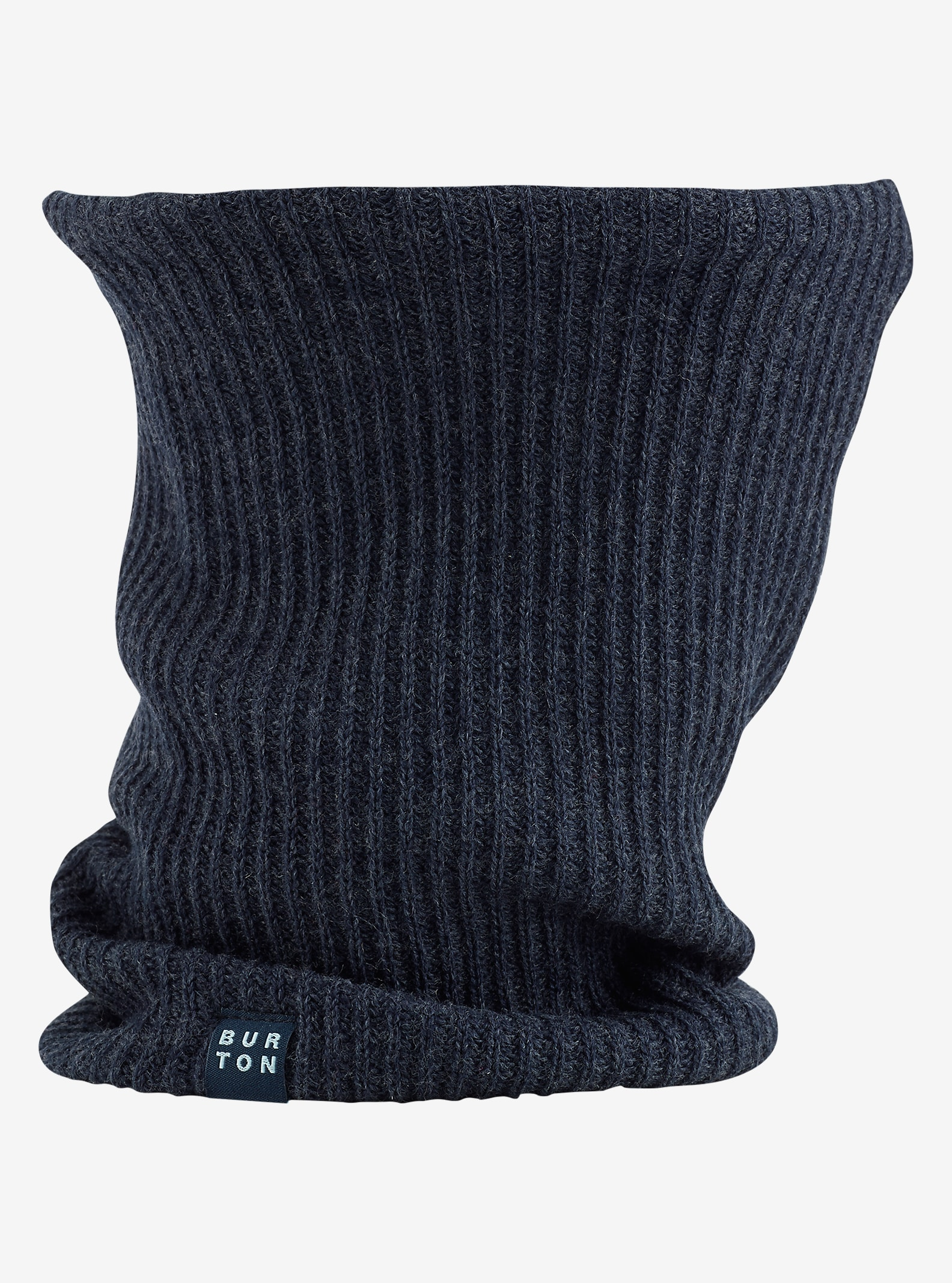 Burton Truckstop Neck Warmer shown in Eclipse Heather