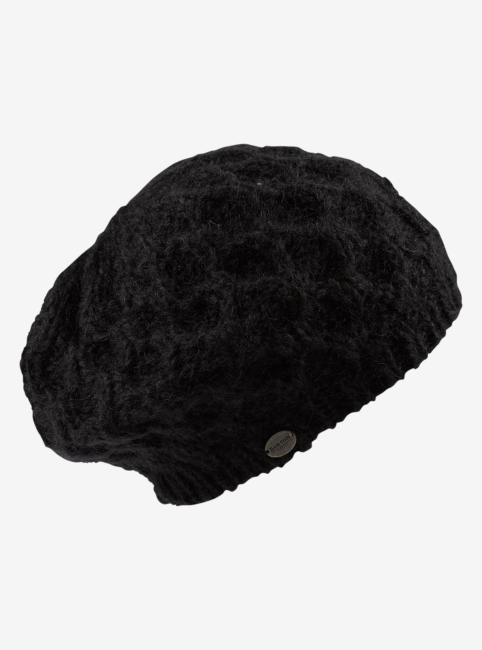 Burton Honeycomb Beanie shown in True Black