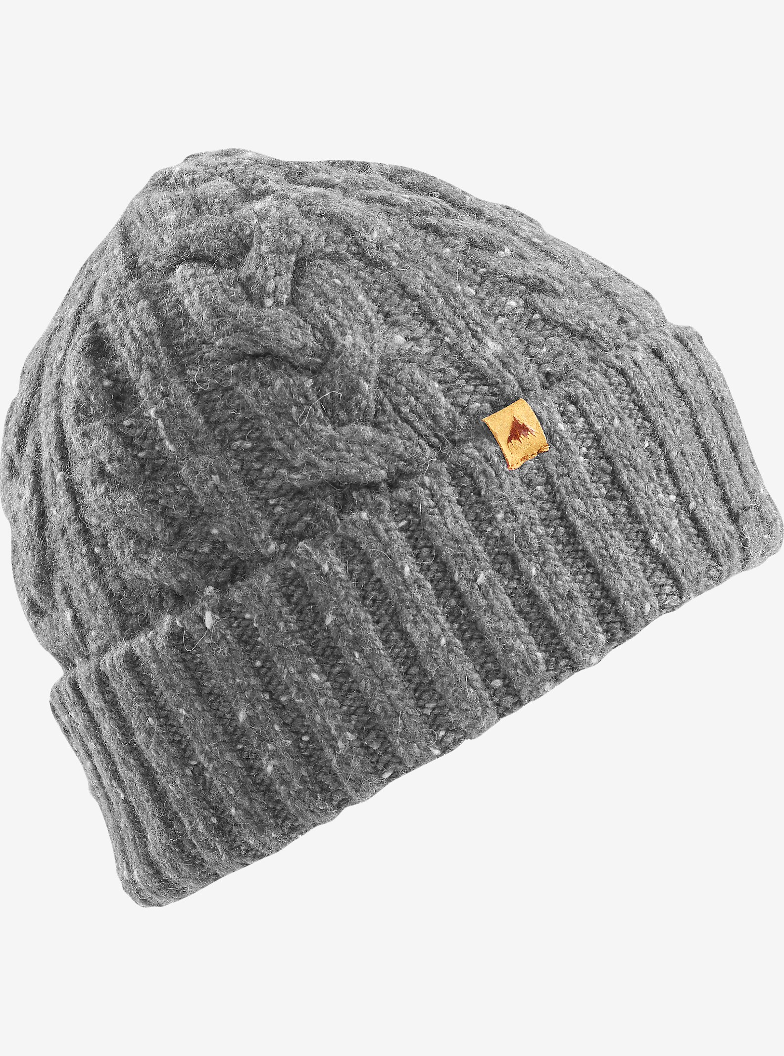 Burton Bering Beanie shown in Iron Gray
