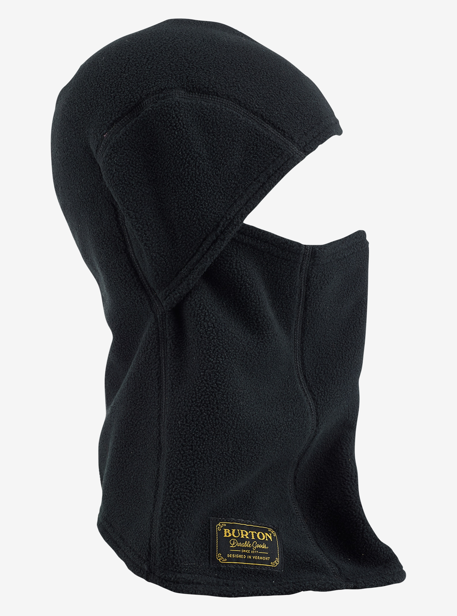 Burton Ember Fleece Clava shown in True Black