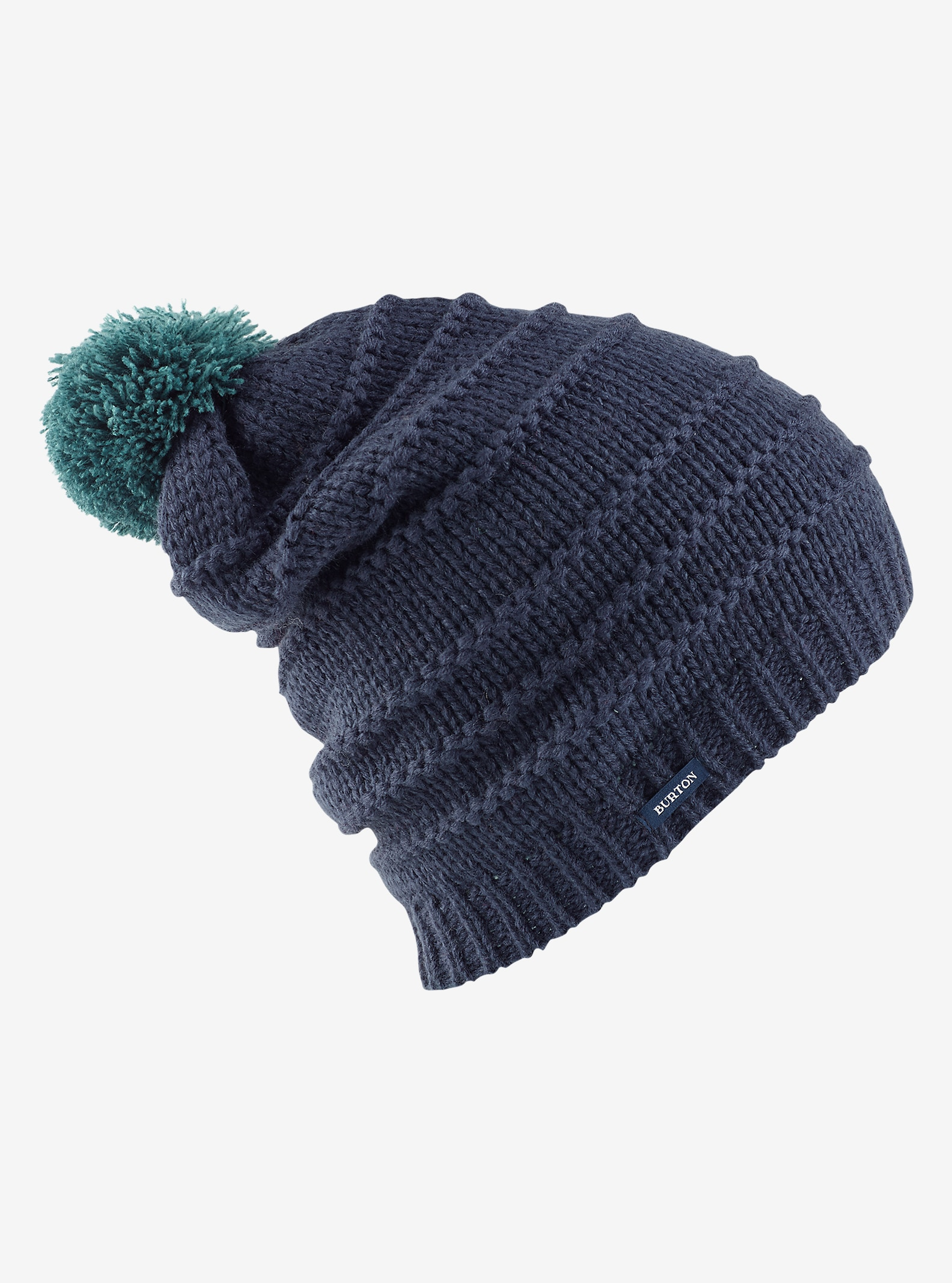 Burton Candystripe Beanie shown in Mood Indigo
