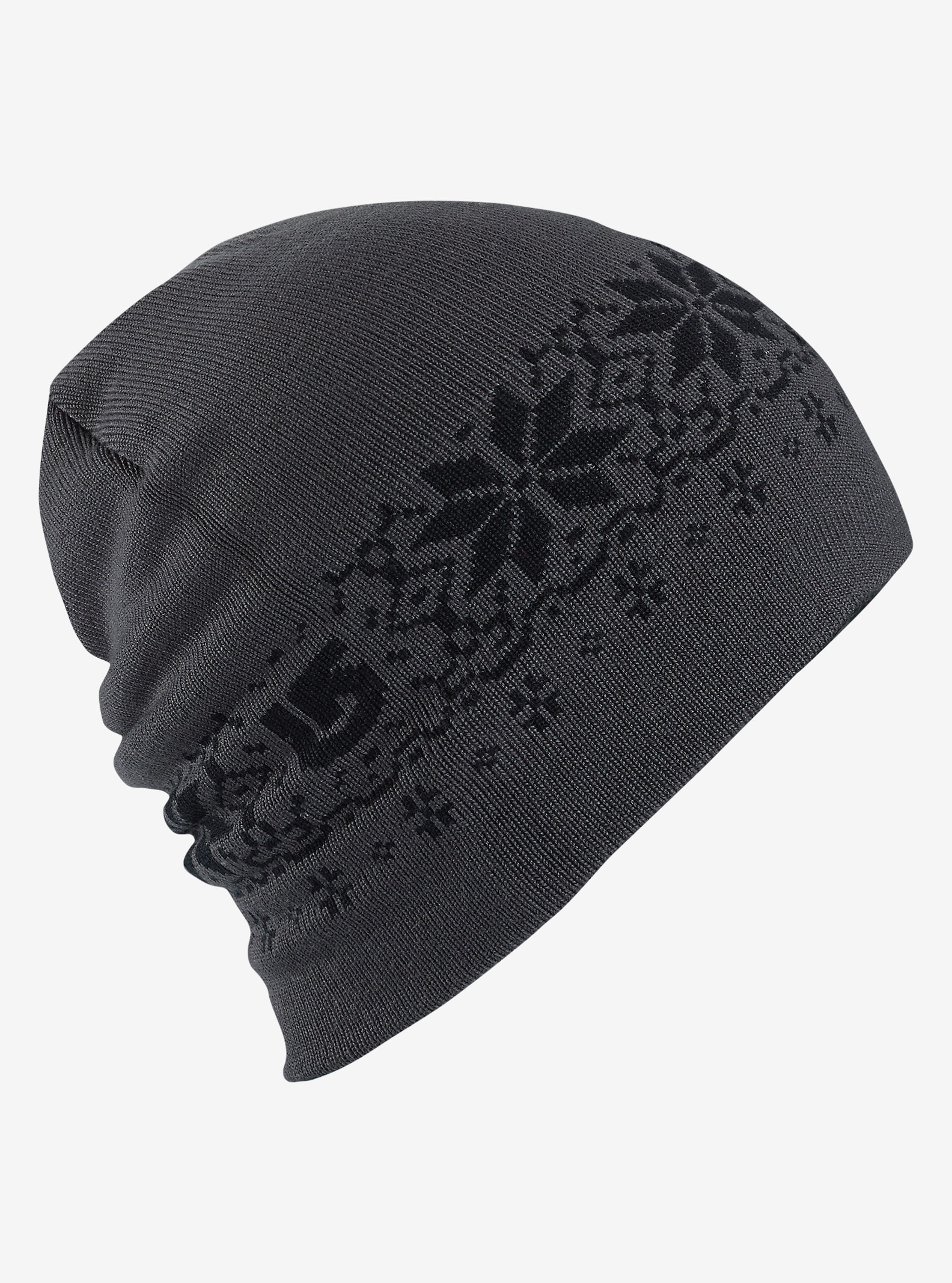 Burton Belle Beanie - Reversible shown in True Black / Faded