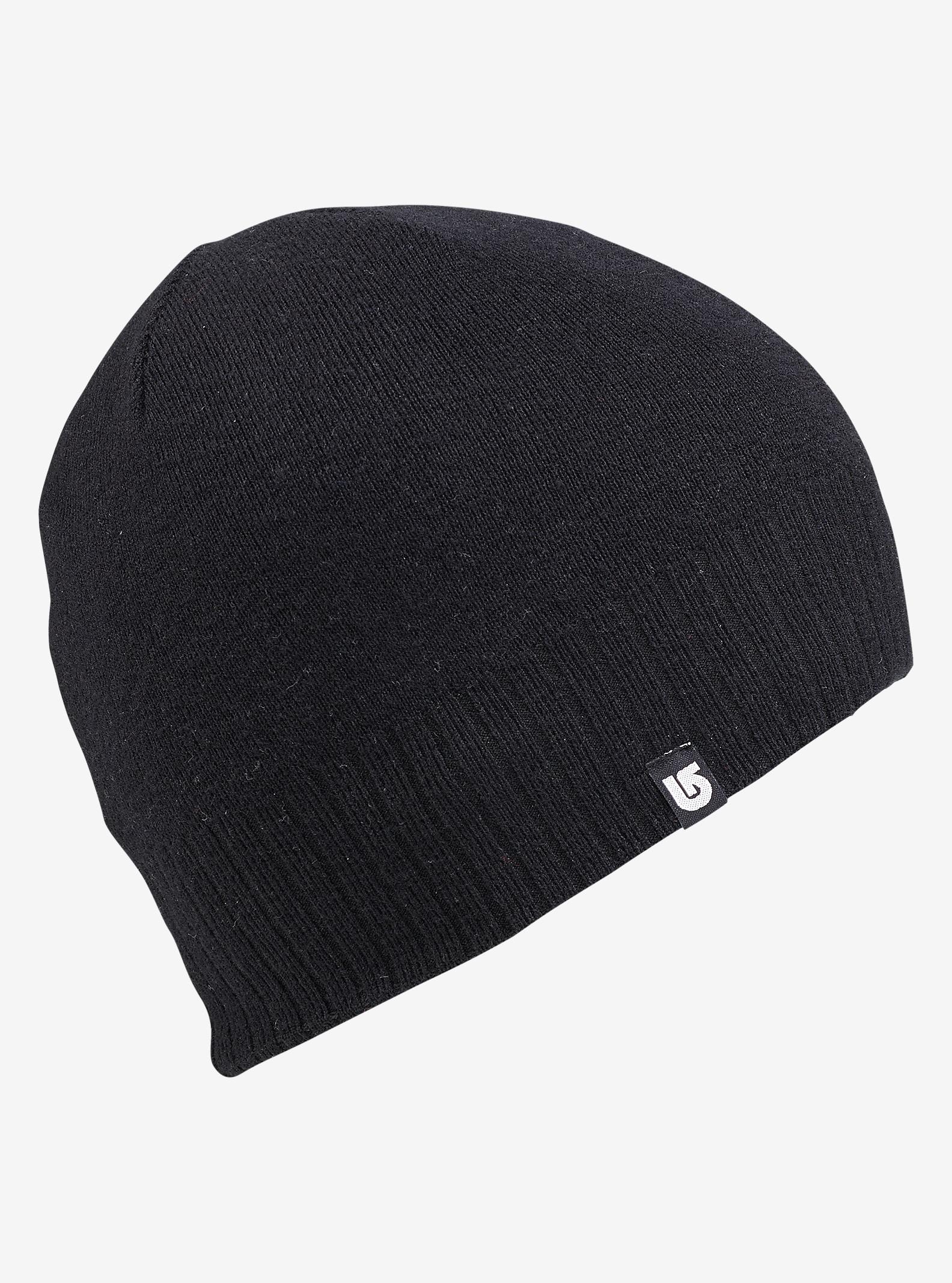 Burton Wool Liner Beanie - Reversible shown in True Black