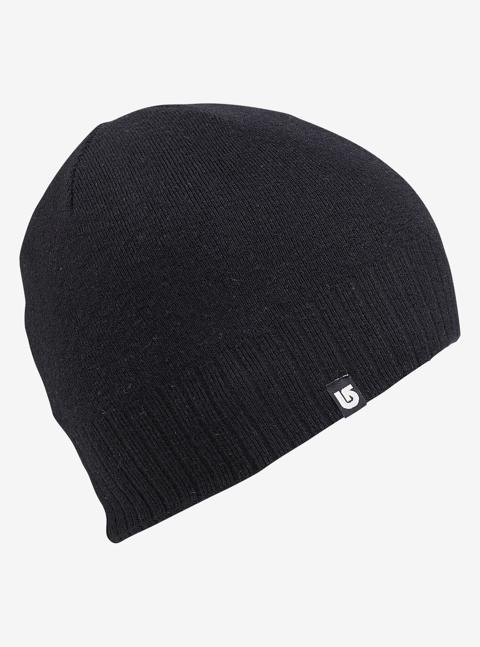 Burton Wool Liner Beanie - Reversible shown in True Black