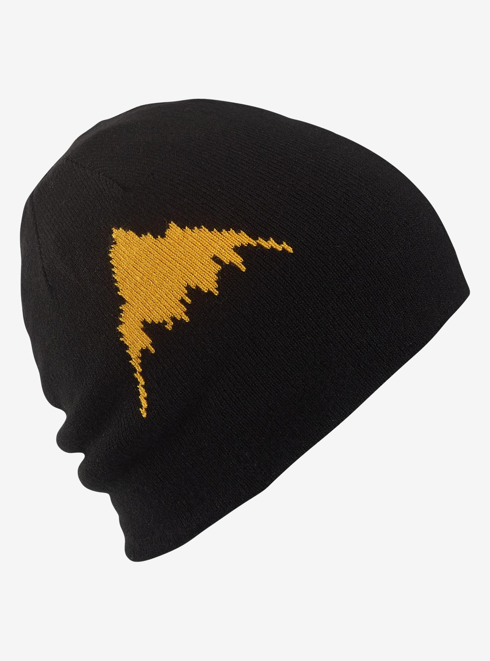 Burton Marquee Mütze für Jungen – wendbar angezeigt in Slime / True Black