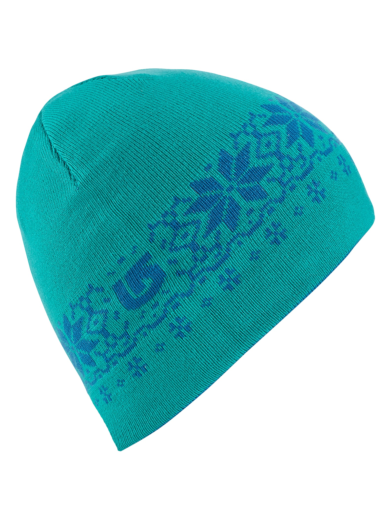 Burton Girls' Belle Reversible Beanie shown in Athens / Everglade
