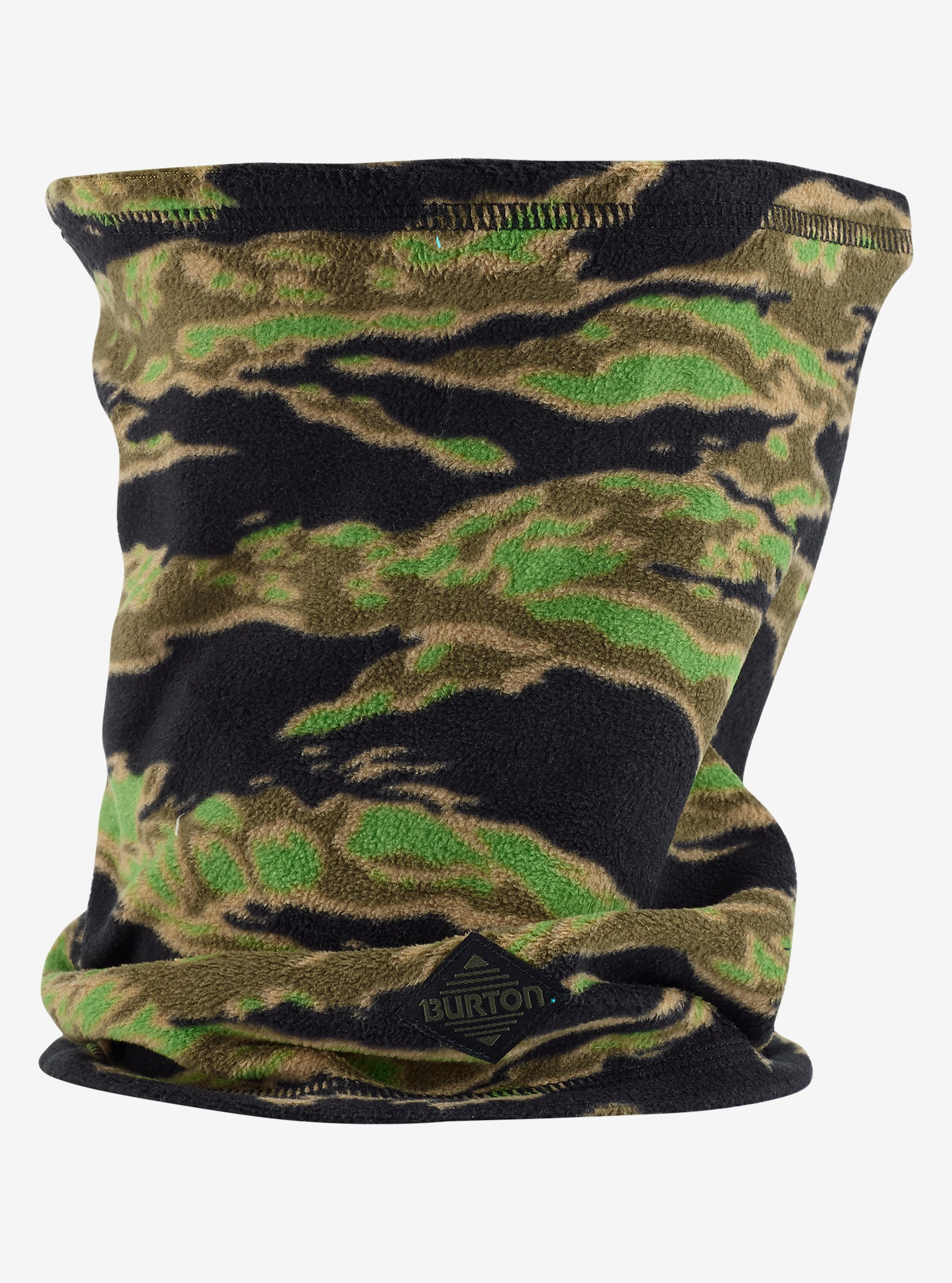 Burton Kids' Neck Warmer shown in Beast Camo
