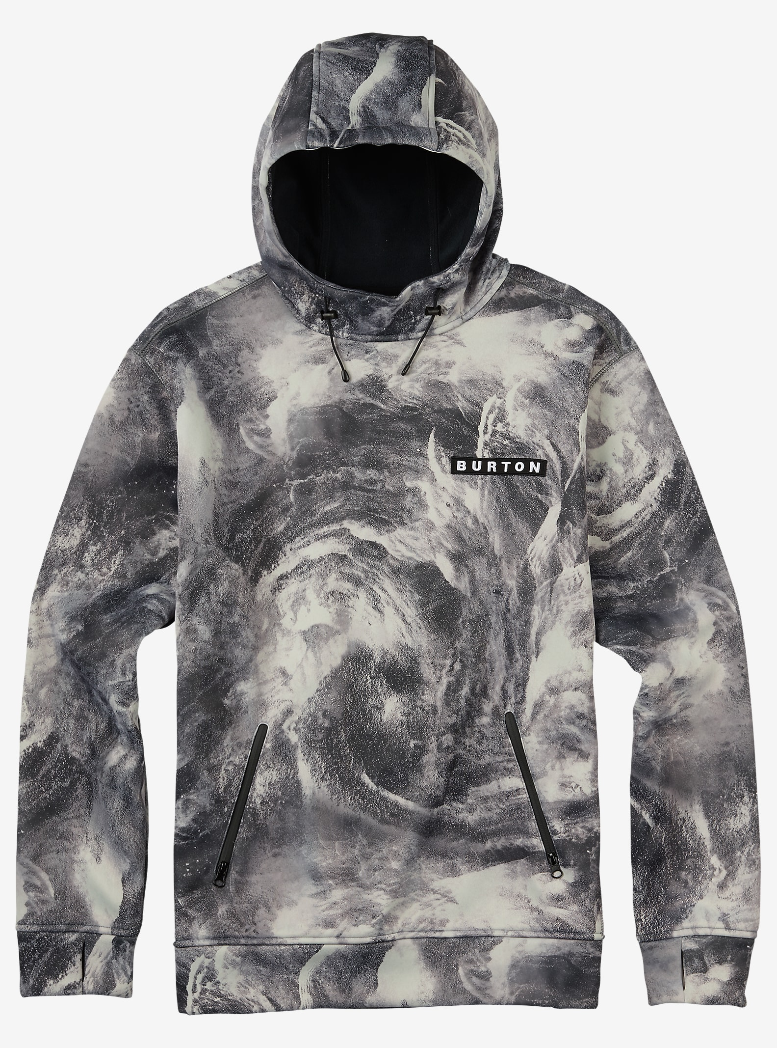 Burton Crown Bonded Pullover Hoodie shown in Air