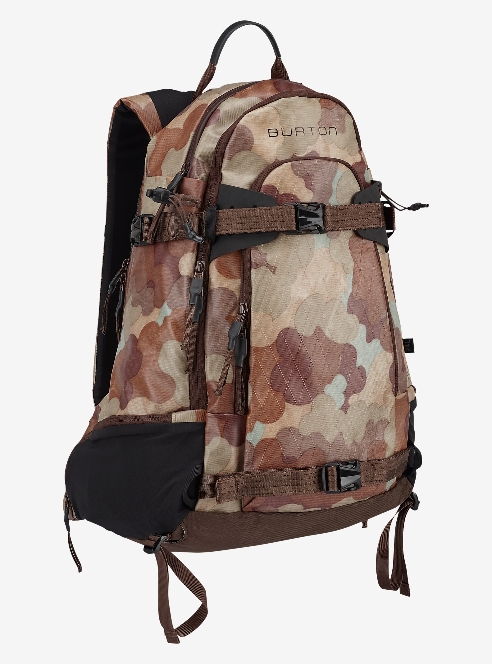 Burton Taft 24L Backpack shown in Storm Camo Tarp