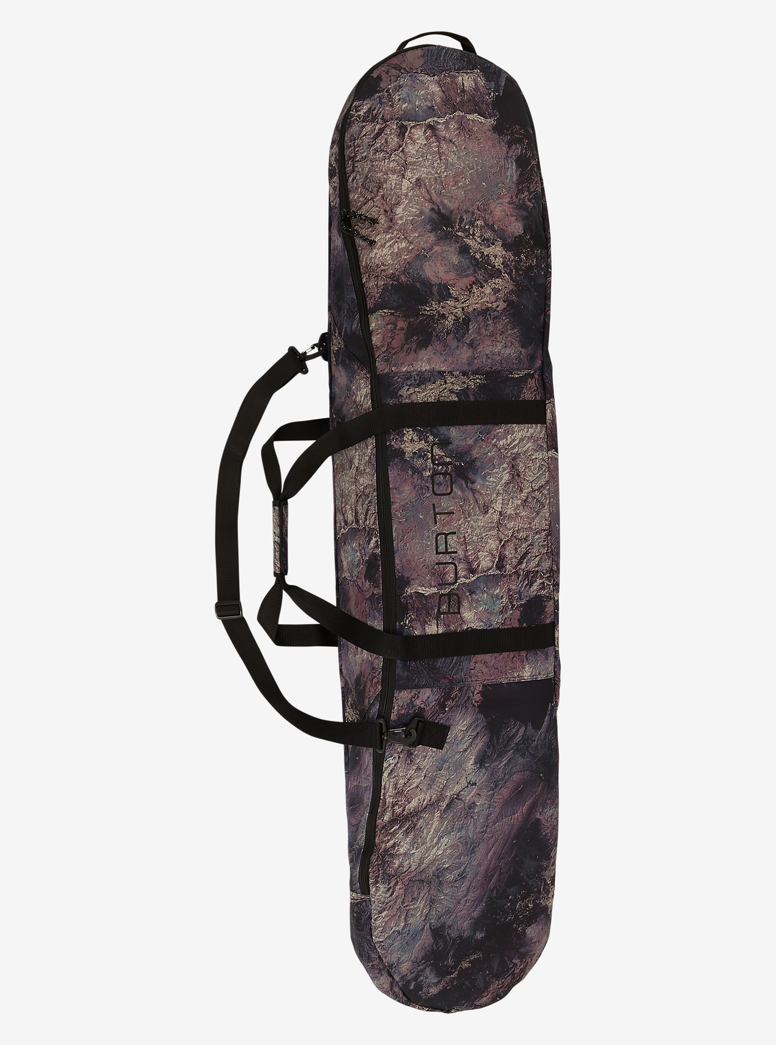 Burton Space Sack shown in Earth Print