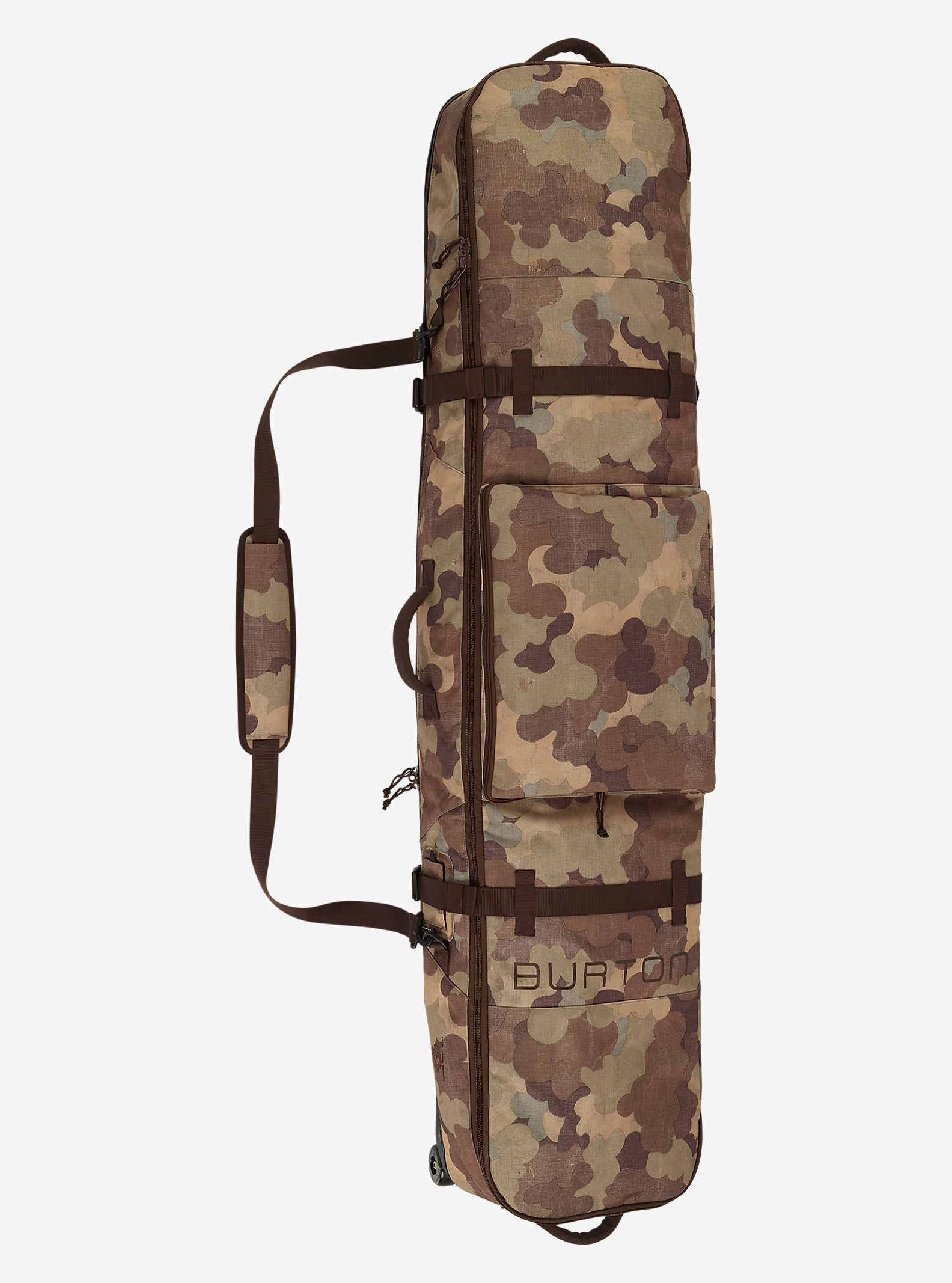 Burton Wheelie Board Case shown in Storm Camo Print