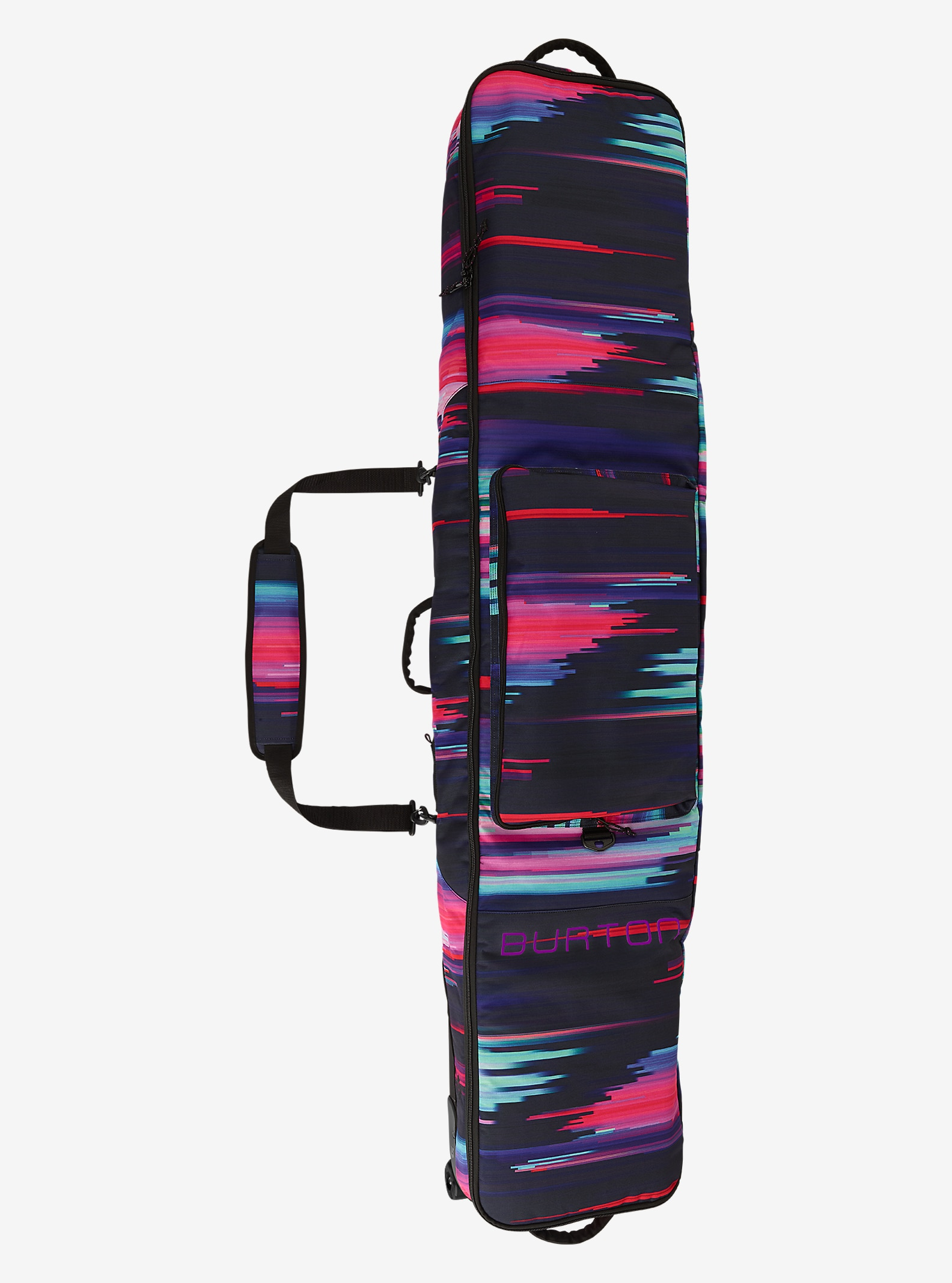 Burton Wheelie Gig Bag shown in Glitch Print