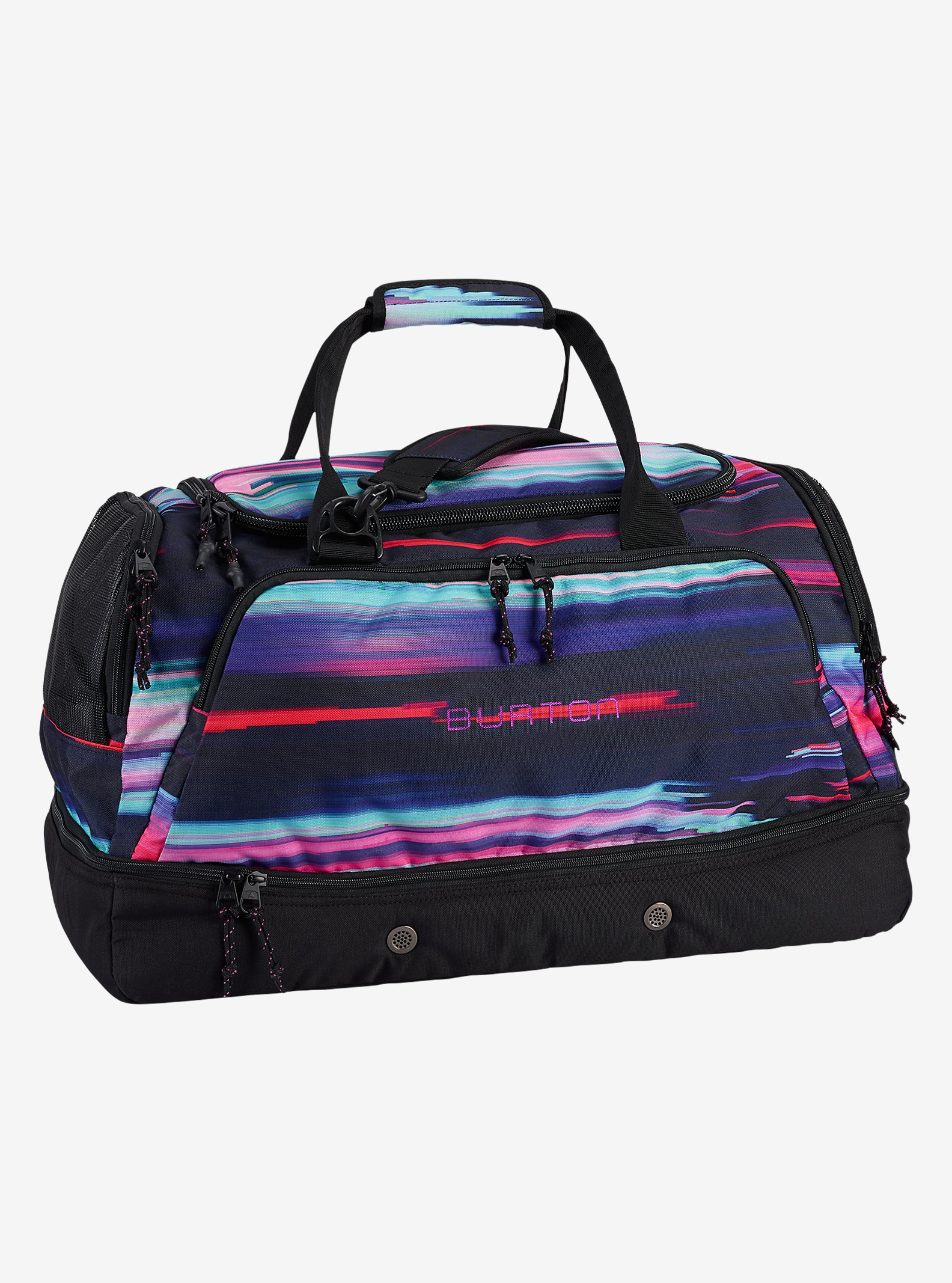 Burton Rider's Bag 2.0 shown in Glitch Print