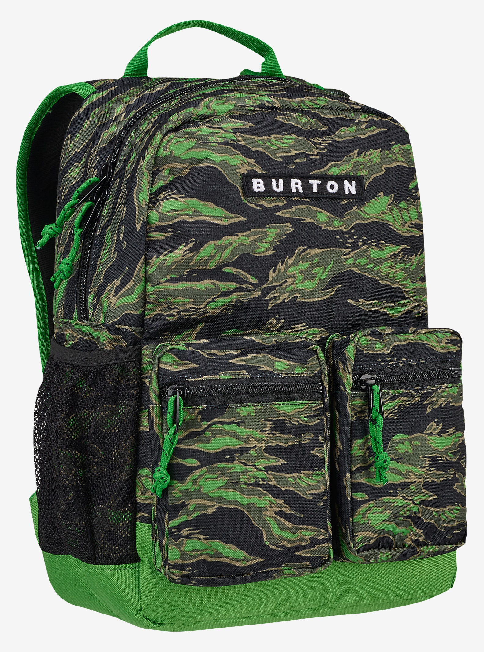 Burton Kids' Gromlet Backpack shown in Slime Camo Print
