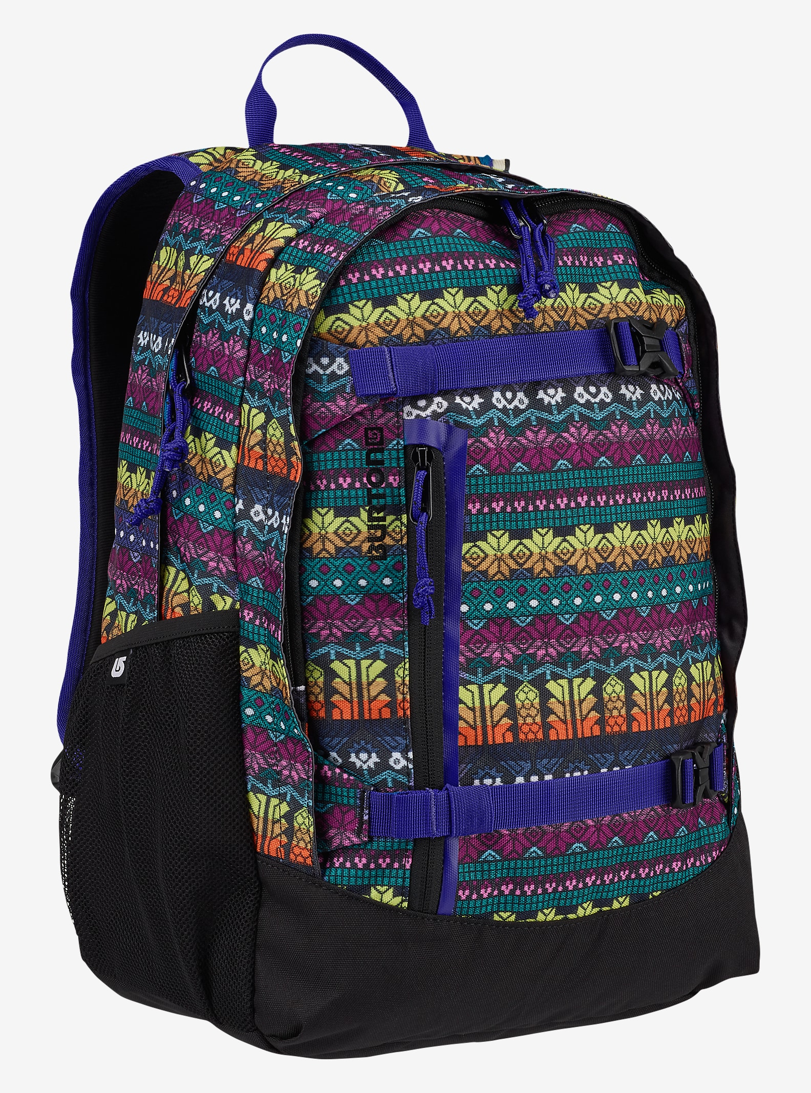 Burton Kids' Day Hiker 20L Backpack shown in Figaro Stripe