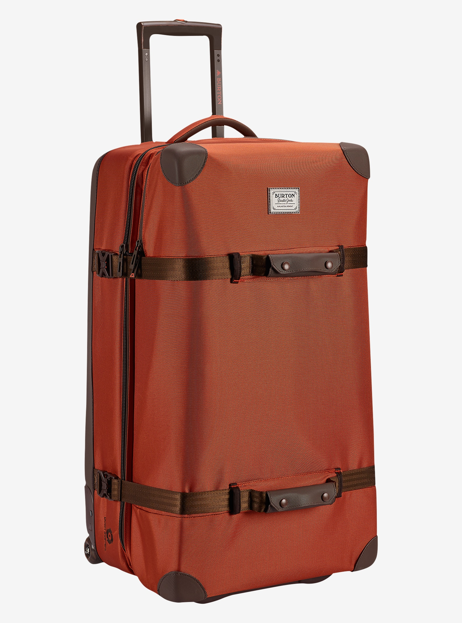 Burton Wheelie Sub Travel Bag shown in Burnt Ochre [bluesign® Approved]