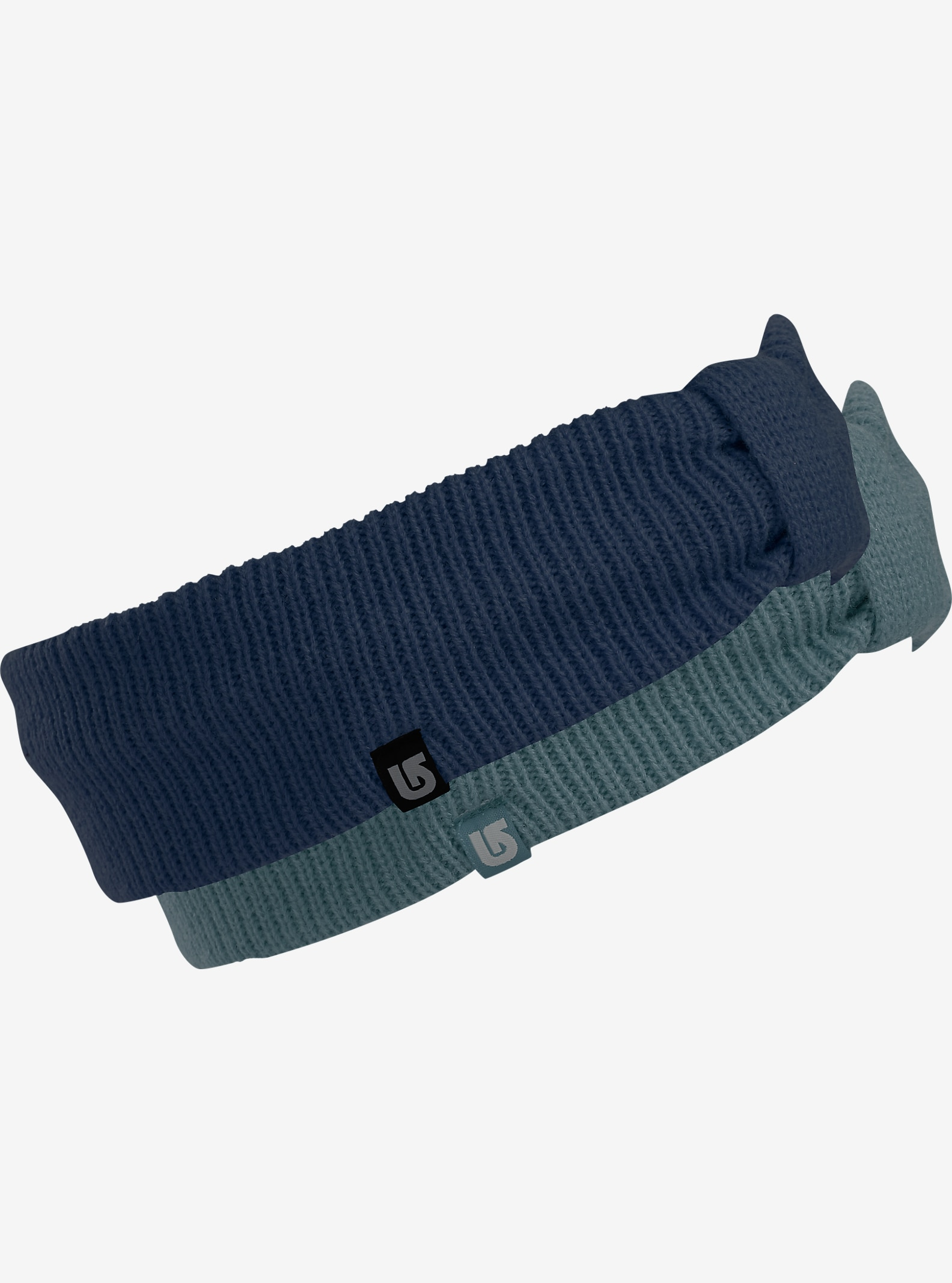 Burton Ashley Headband 2-Pack shown in Tundra / Mood Indigo