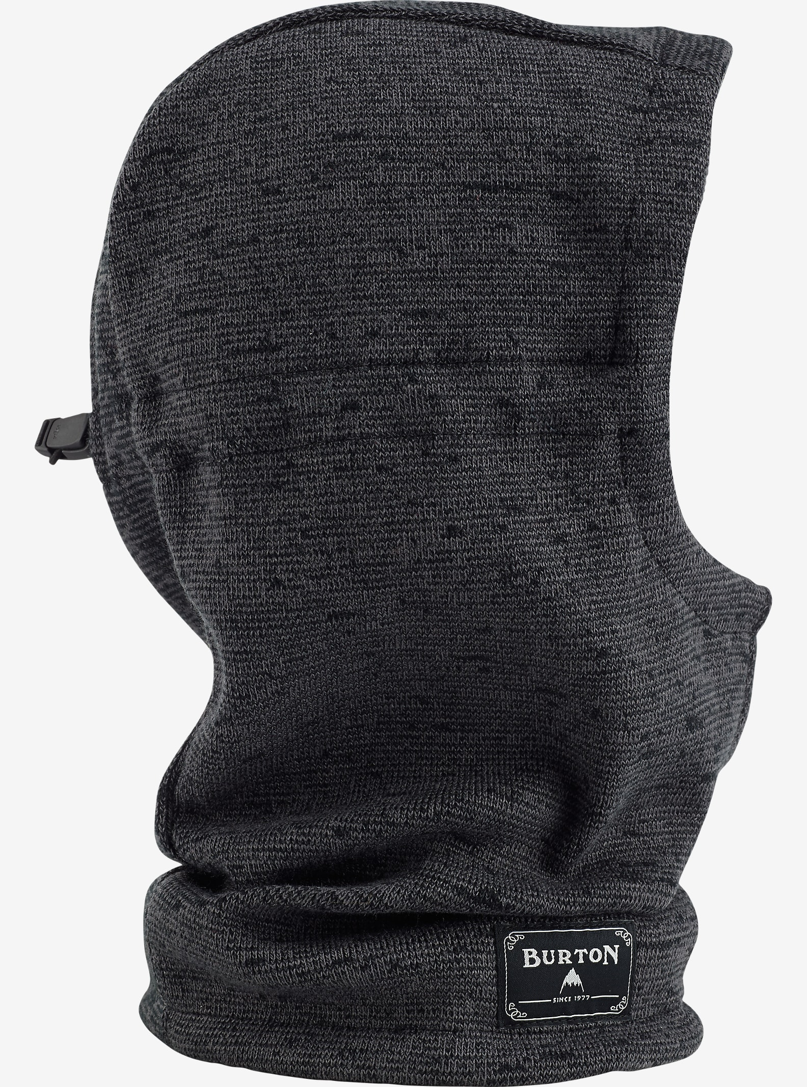 Burton Hampshire Hood shown in True Black / Faded Marl