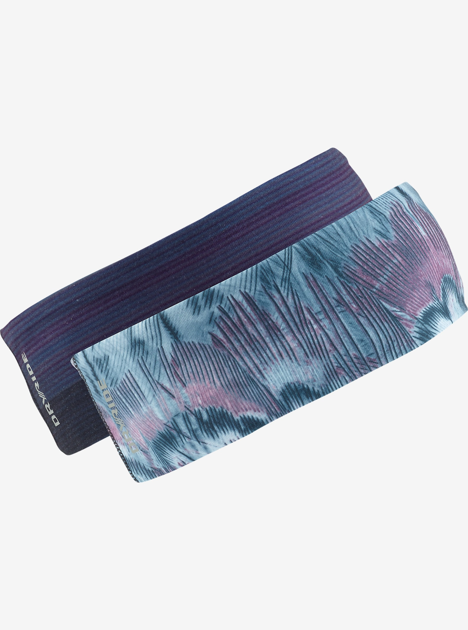 Burton Kyle Headband 2-Pack shown in Feathers / Coral Flynn Glitch