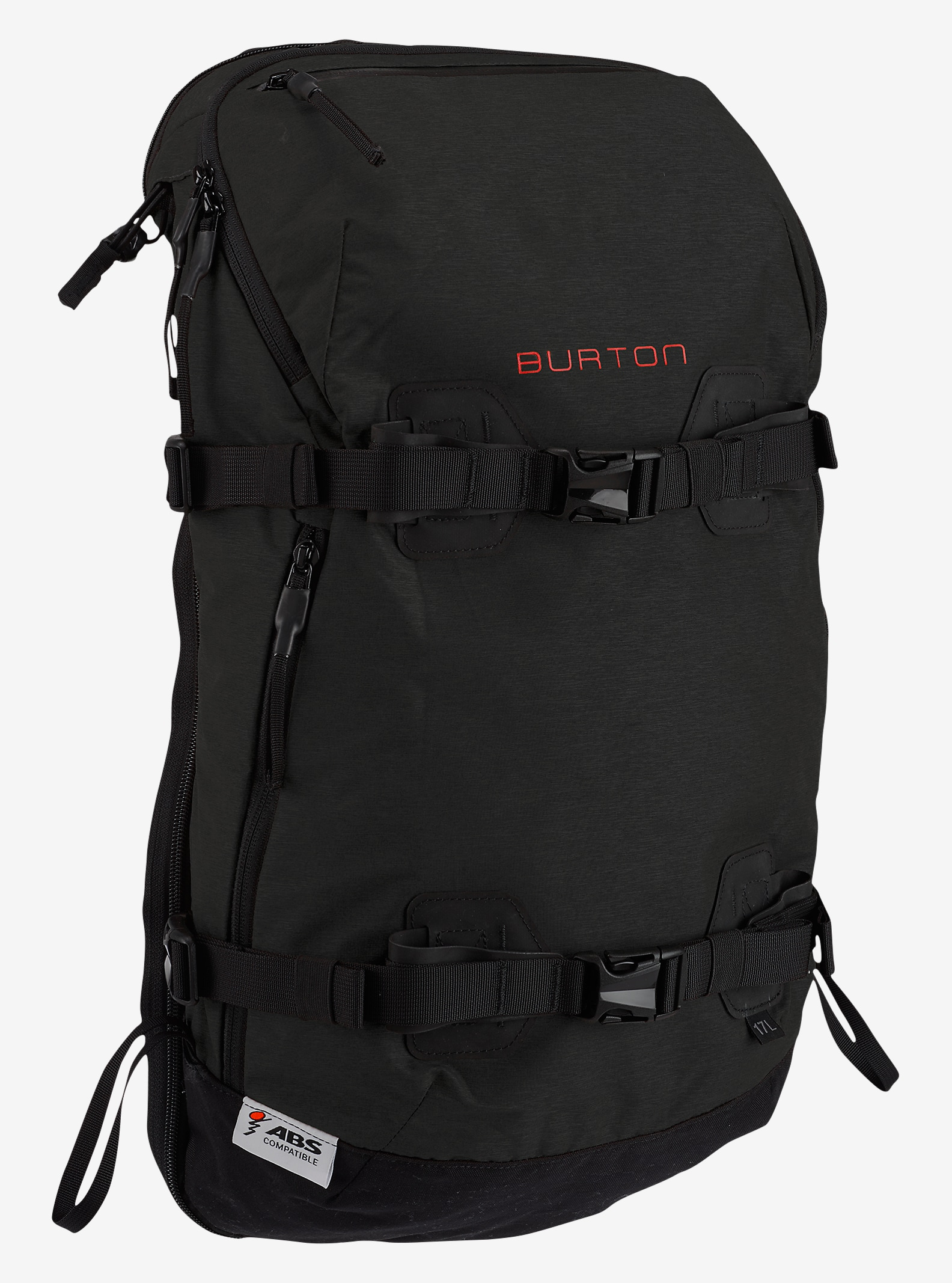 Burton ABS Vario 17L Cover shown in True Black Cordura®