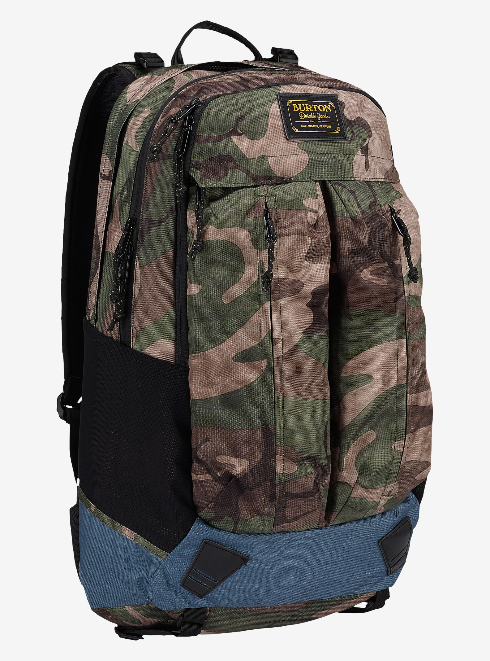 Burton Bravo Backpack shown in Bkamo Print