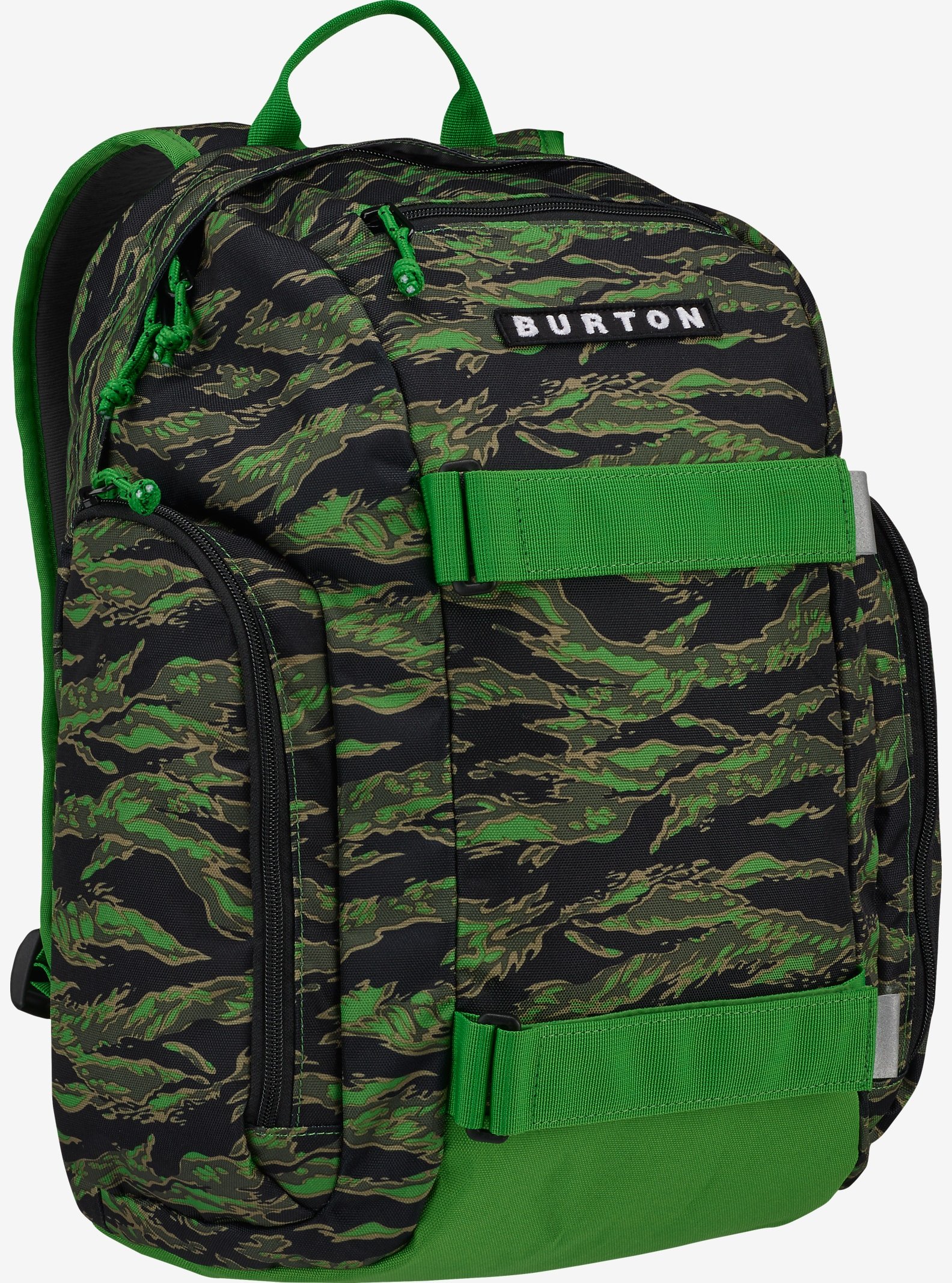 Burton Kids' Metalhead Backpack shown in Slime Camo Print