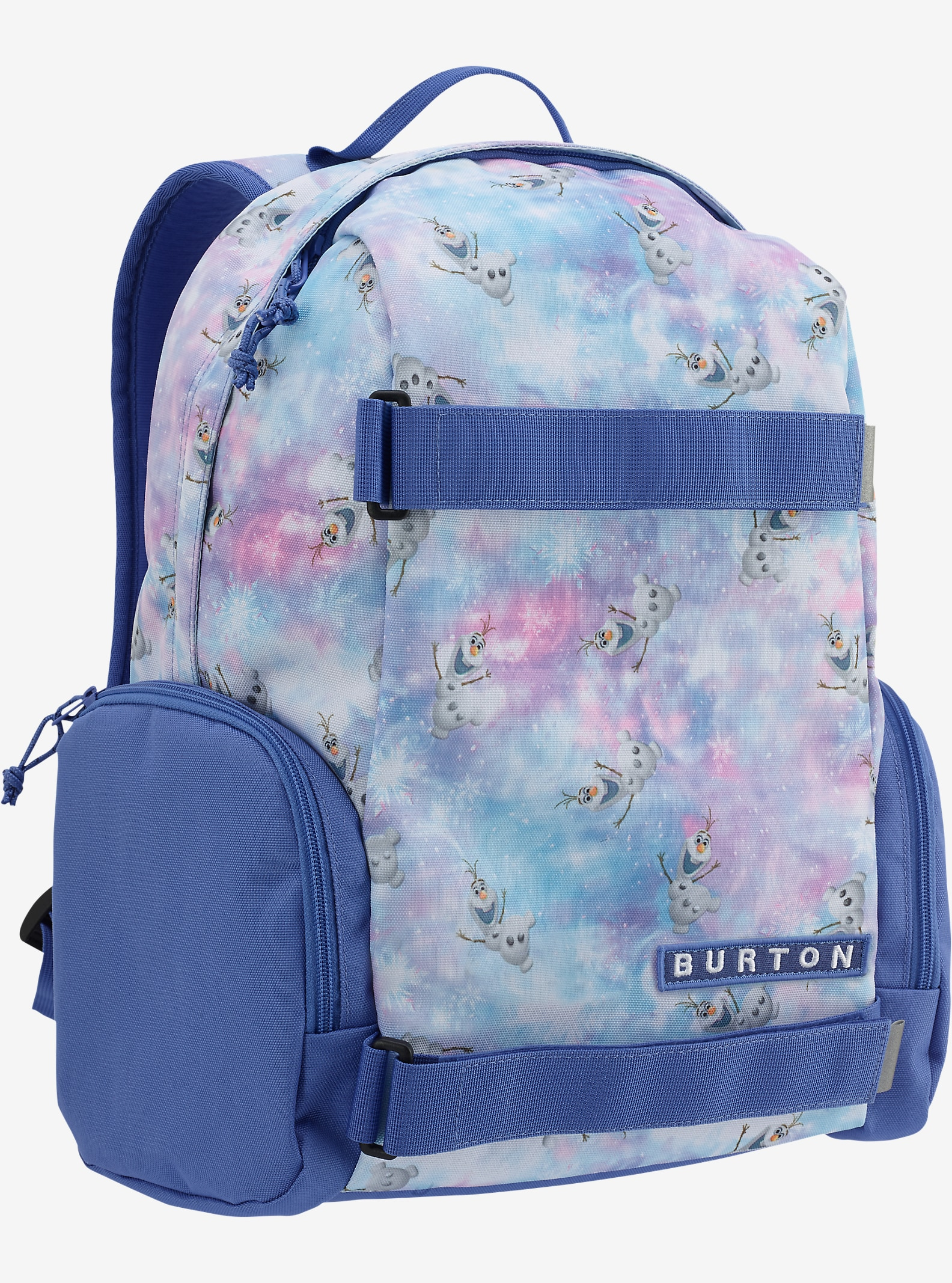 Disney Frozen Kids' Emphasis Backpack shown in Olaf Frozen Print © Disney