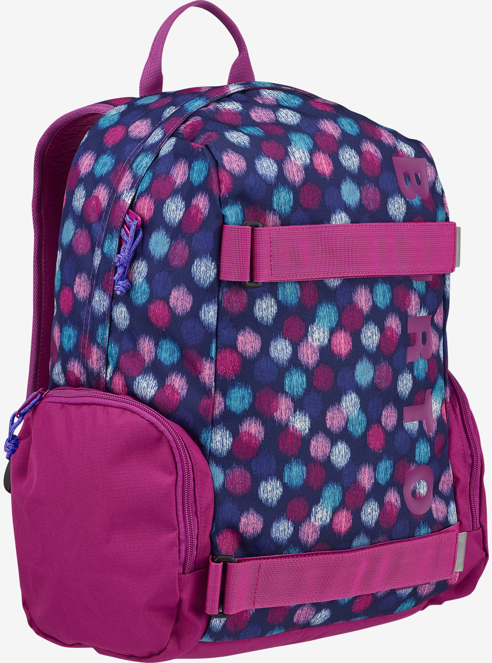Burton Kids' Emphasis Backpack shown in Ikat Dot Print