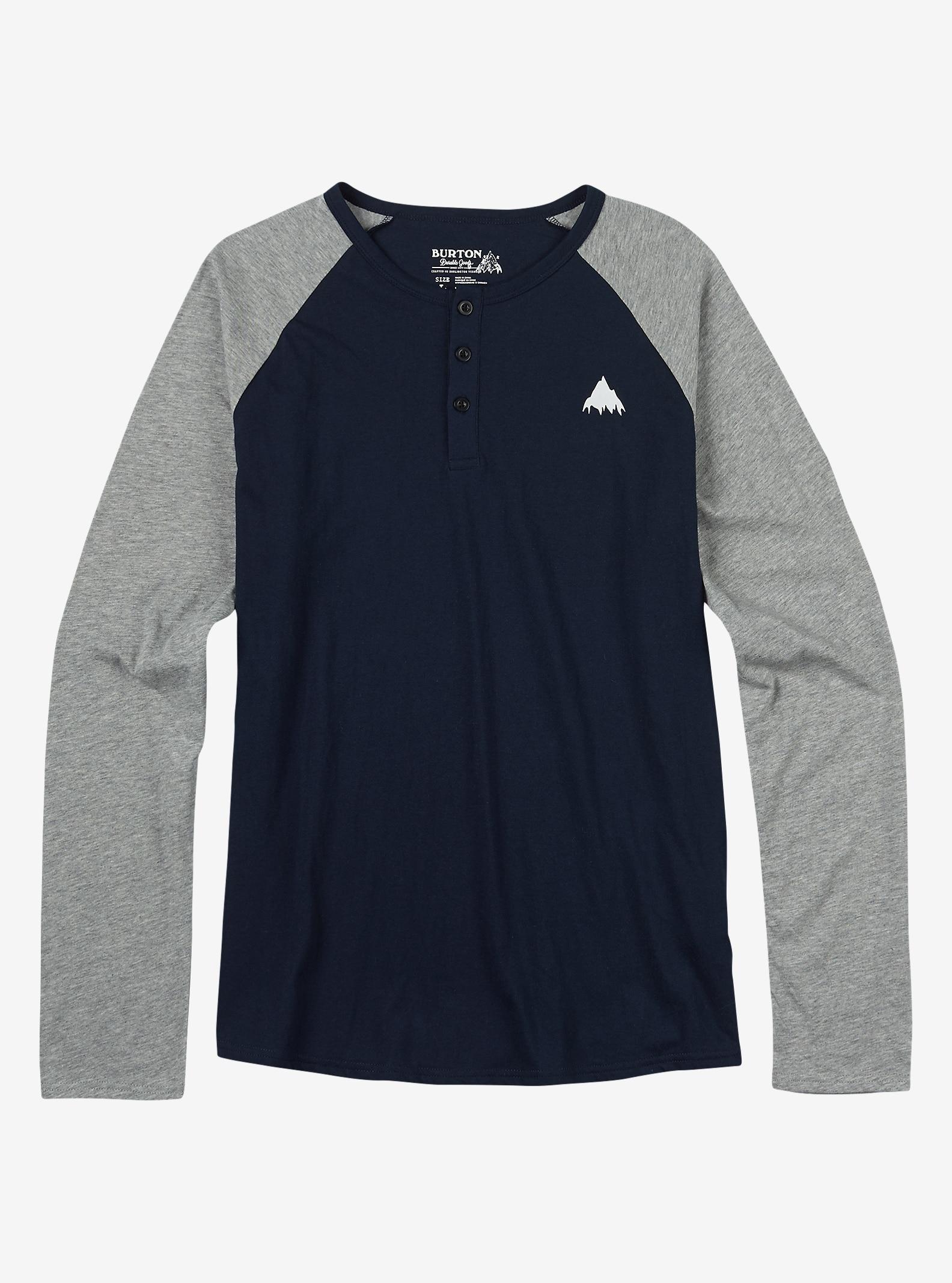 Burton Lifty Henley Shirt shown in Eclipse