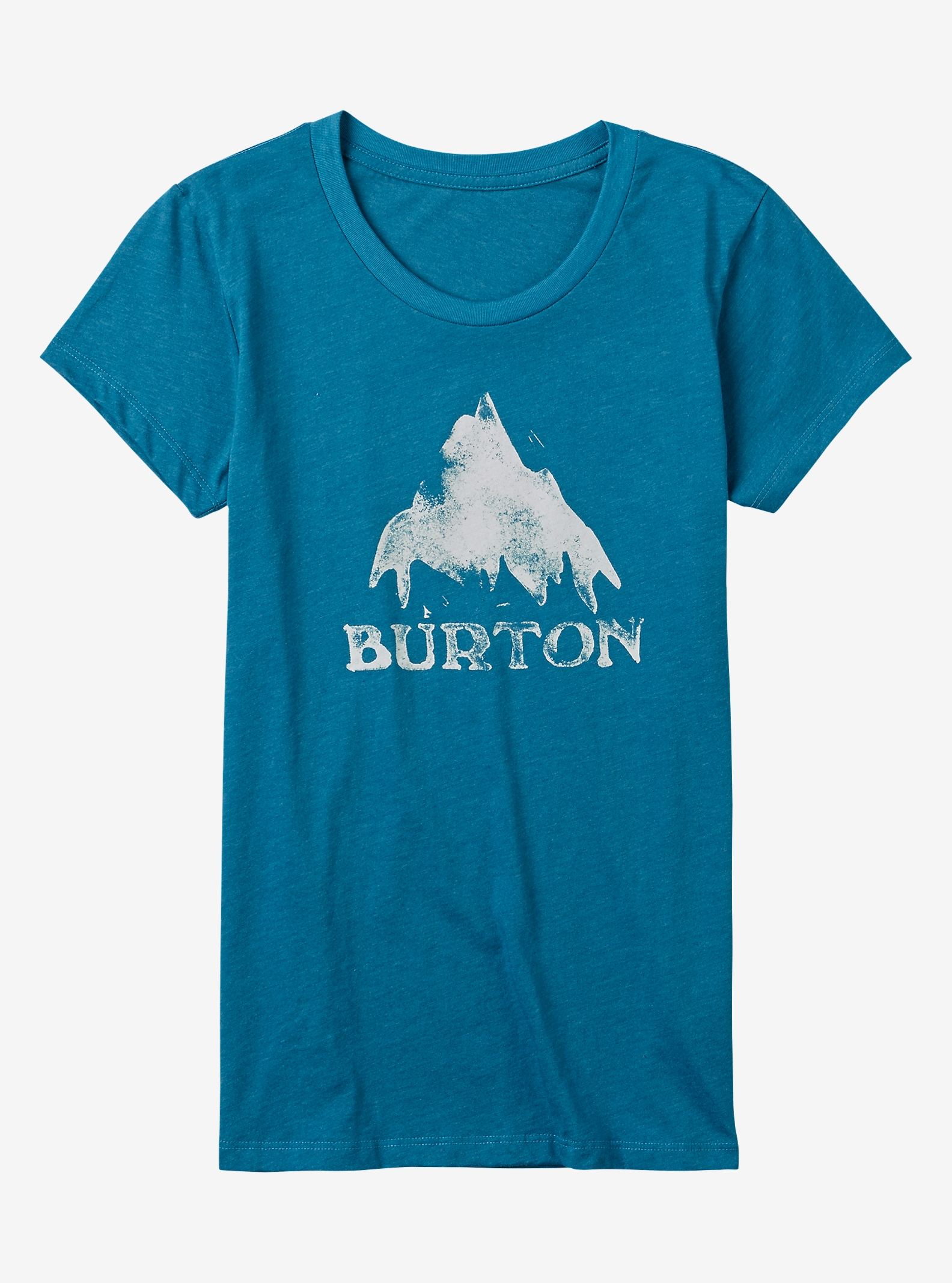 Burton Stamped Mountain T-Shirt angezeigt in Hydro Heather